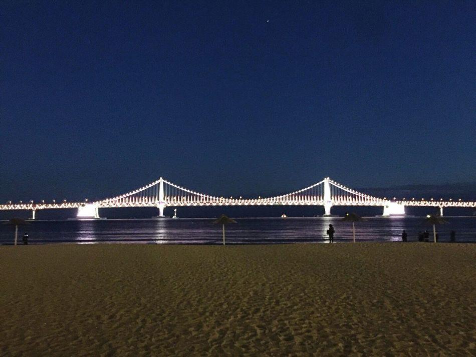 Busan Korea Gwanganli Gwangan Bridge Bling Bling Beautiful Beach Learn & Shoot: After Dark