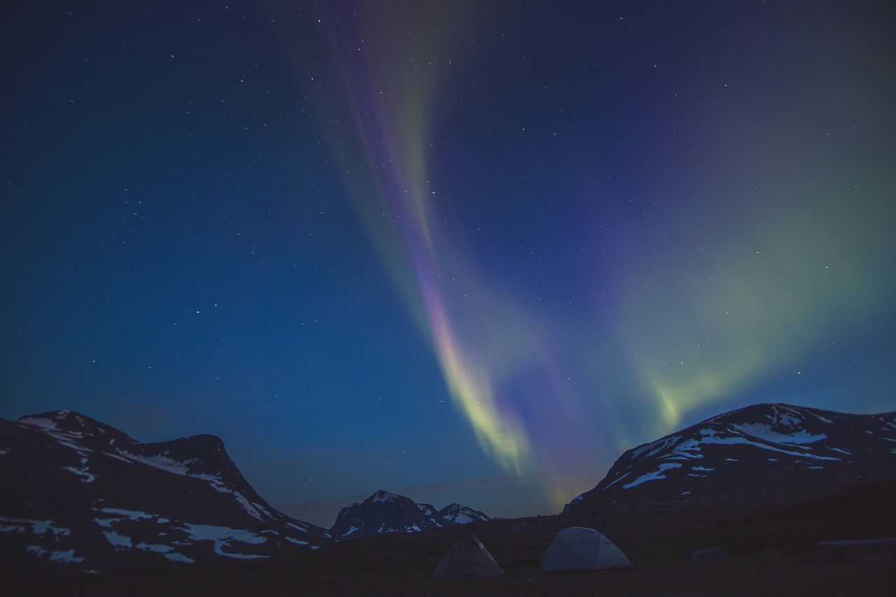 Beautiful stock photos of alaska, Aurora Borealis, Beauty In Nature, Camping, Cold Temperature