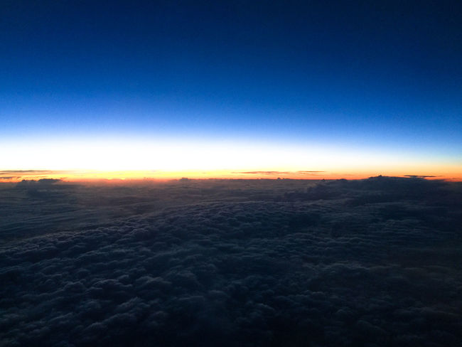Above The Clouds Airplaneview Beauty In Nature Blue Boundless Sky Clear Sky Cloud - Sky Clouds And Sky Distant Eyeemphoto Eyeemphotography Freedom Heavenly Horizon Idyllic Limitless Majestic Nature Non-urban Scene Scenics Sunset Tranquil Scene Tranquility Unlimited