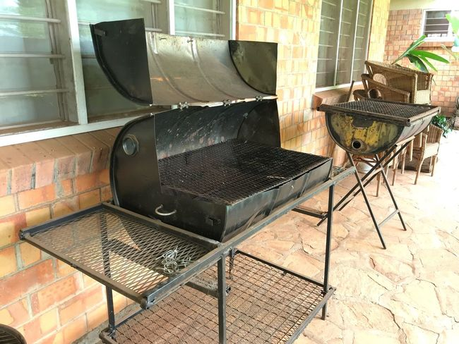 Rethink Things Oil Drums BBQ BBQ Time No People Outdoors Grill BBQing Barbecue Recycling DIY
