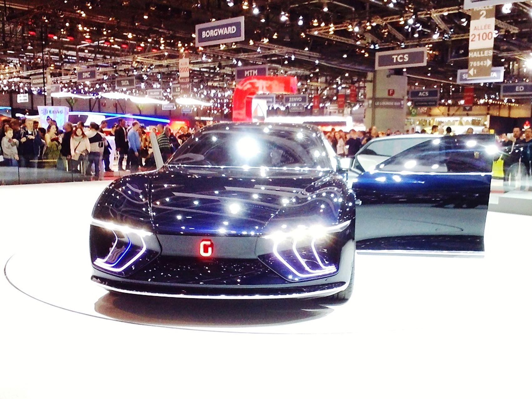 Giugiaro  Design Concept Giugiaro GEA GenevaInternationalMotorShow2015 GIMS2015 Swiss