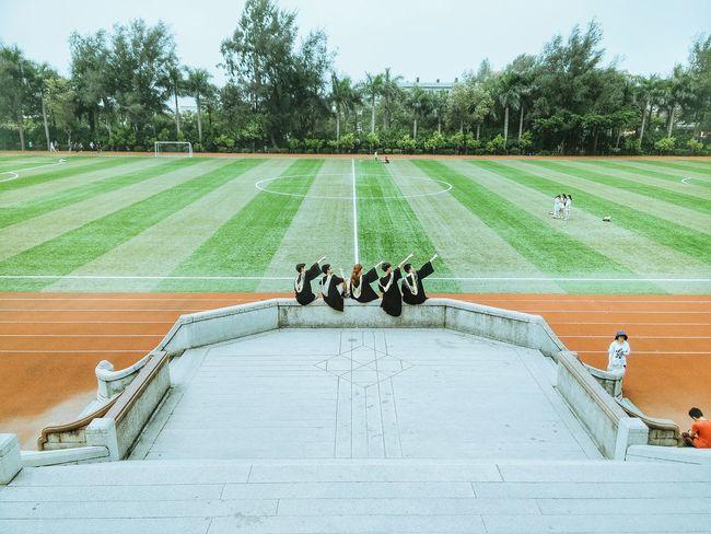 Stadium Gym Campus On Campus At University Graduation Graduation Season University
