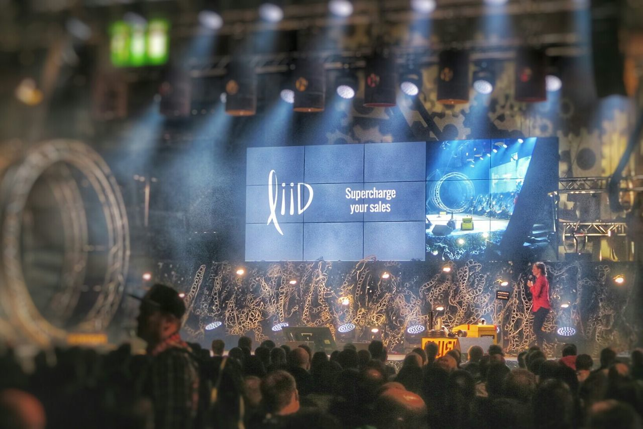 Liid presents at Slush 2015 Slush Slush15 G7x Helsinki Startups Tech Wednesday Finland Nordic Canon G7X November2015 Suomi Conference
