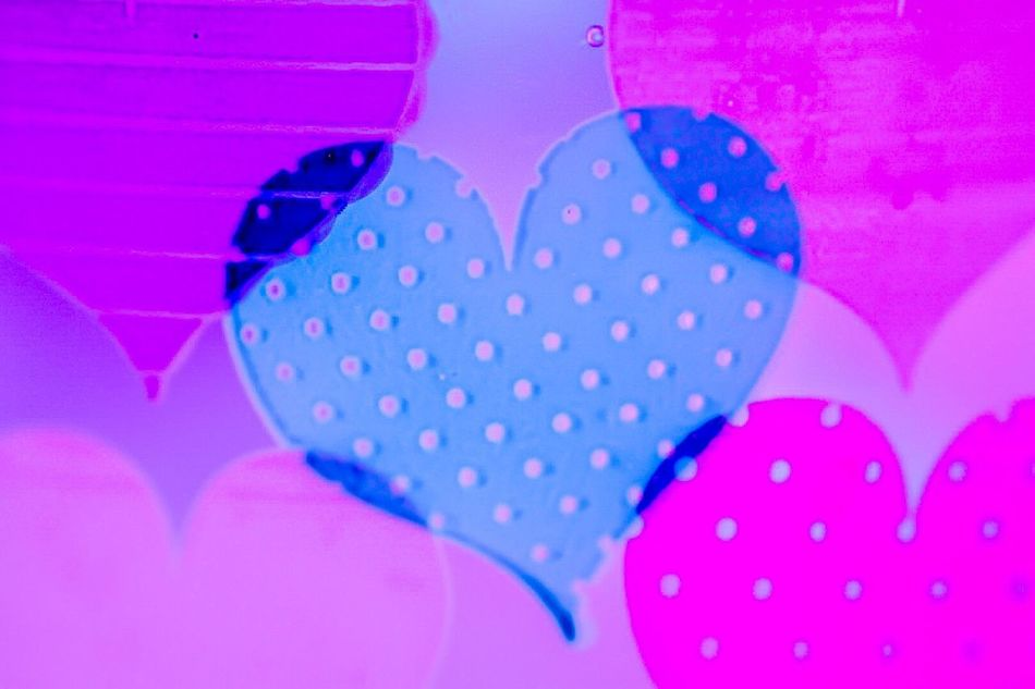 Pattern Spotted Polka Dot Pink Color Indoors  Close-up No People Day HeartsOnFire Heart Shape