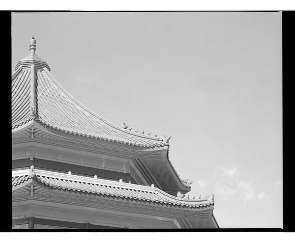 Architecture Building Exterior Built Structure Low Angle View Day No People Clear Sky Outdoors Sky Buddhist Temple Buddhist Buddhism Mamiya Rz67 Neopan400 Fujifilm Place Of Worship Spirituality Religion Old Buildings Mamiya Architecture