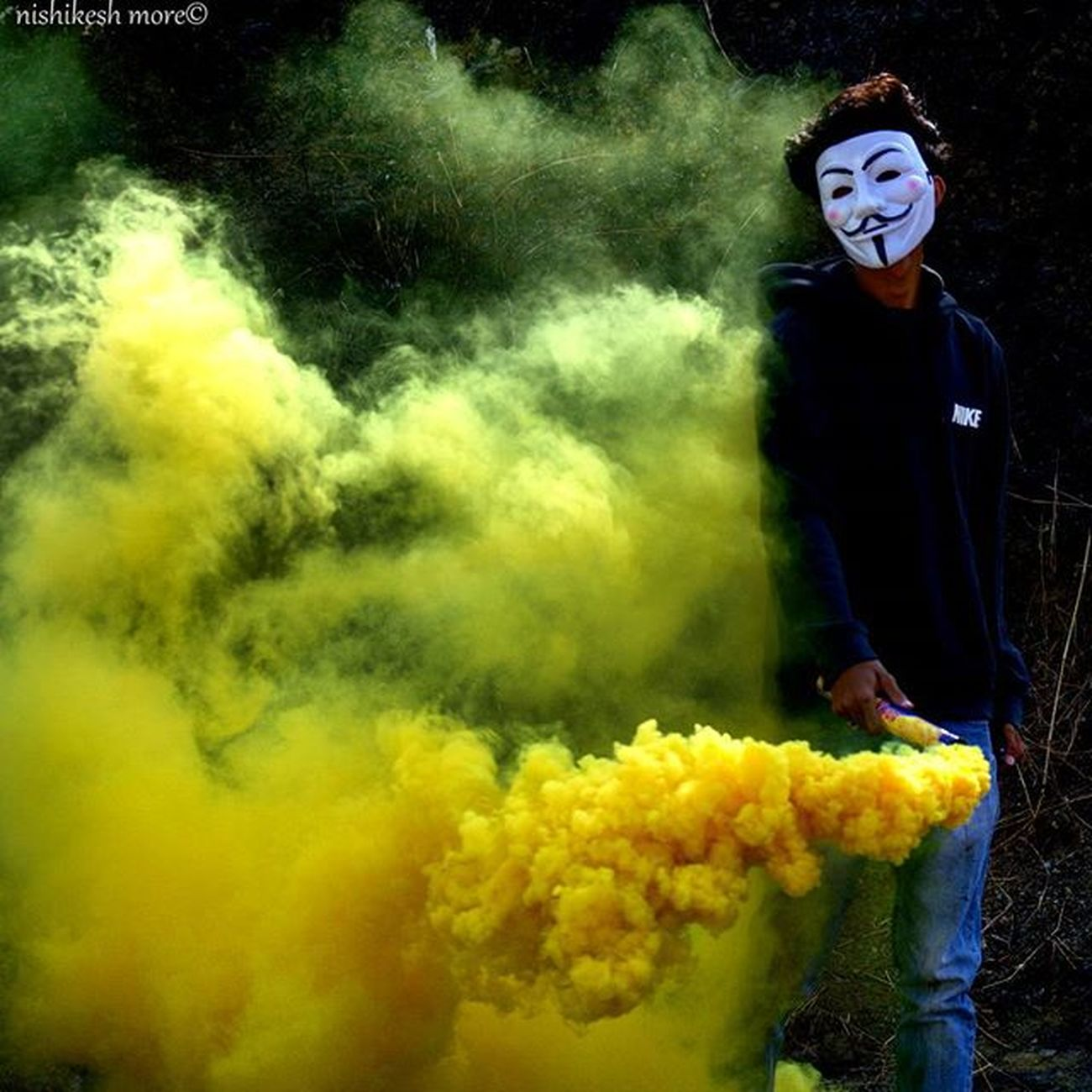 Last one from the smoke bombing series..!! 6 Smoke Smokebombphotography Smoke Smokeyeye Yellow Anonymous Abstract Abstracters_anonymous Colours Photography Photographers_of_india _worldsnaps Indiasb India_ig Maharashtra_ig Mumbai_uncensored Instalike Instafollow