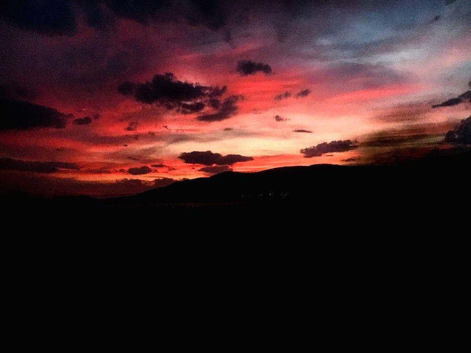 Sunset Nature Silhouette Beauty In Nature Sky Dark Scenics Outdoors EyeEmNewHere First Eyeem Photo