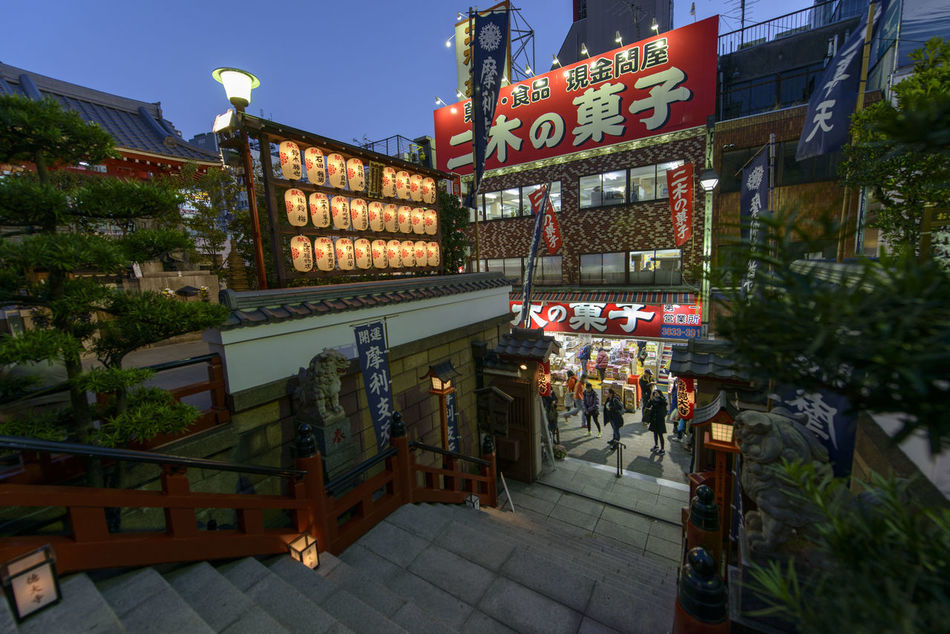 Ameyayokocho Architecture Building Exterior City Dusk Illuminated Japan Japanese Culture Large Group Of People Night Nightlife Outdoors People Place Of Worship Sky Text Tokyo Travel Destinations
