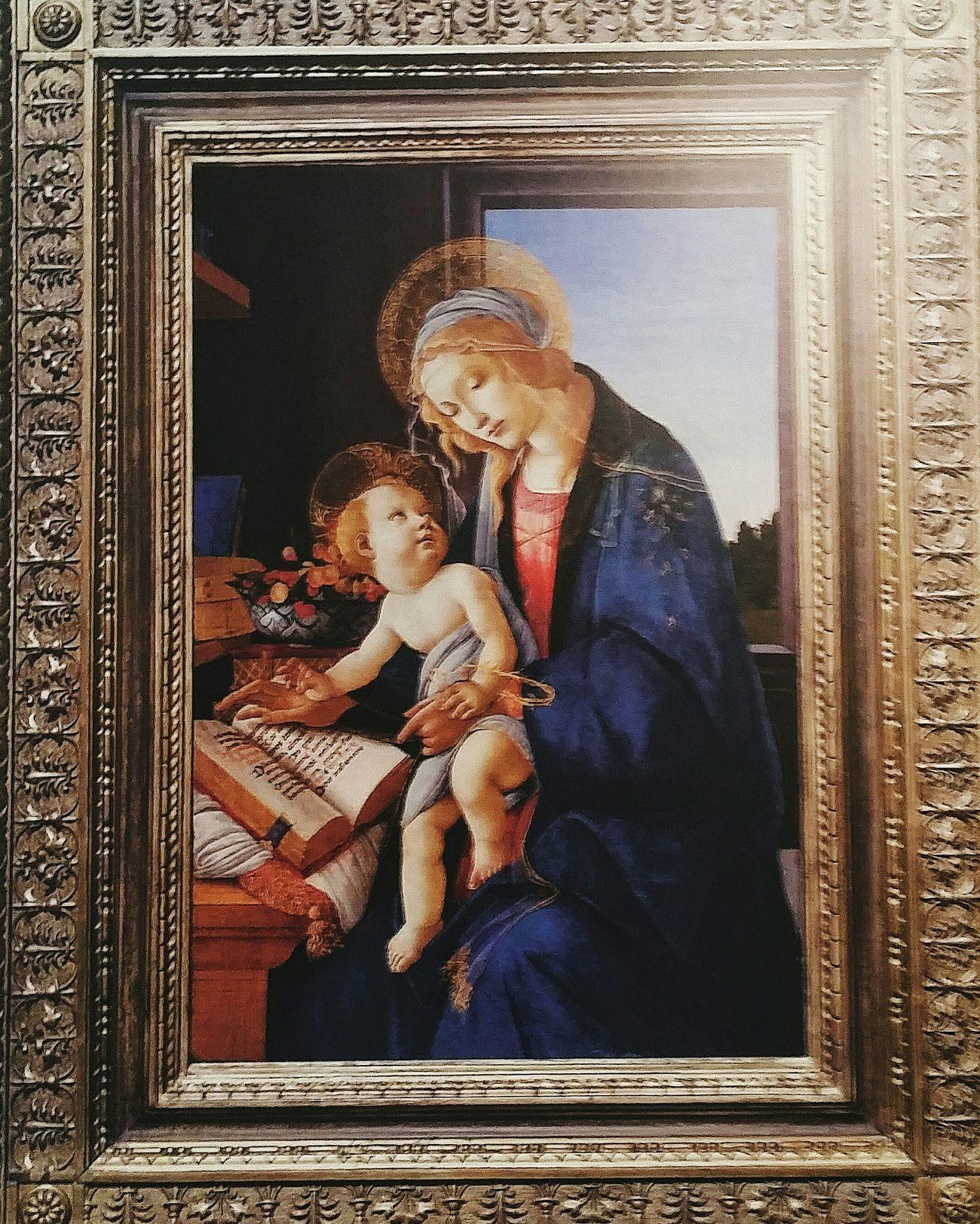 Sandro Botticelli 1445-1510 Madonna Of The Books 1480-3 Art Painting Tokyometropolitanartmeseum Tokyo
