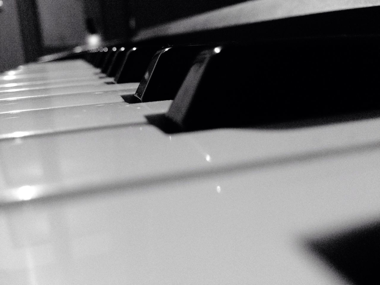 Beautiful stock photos of piano, Arts Culture And Entertainment, Black Color, Close-Up, In A Row