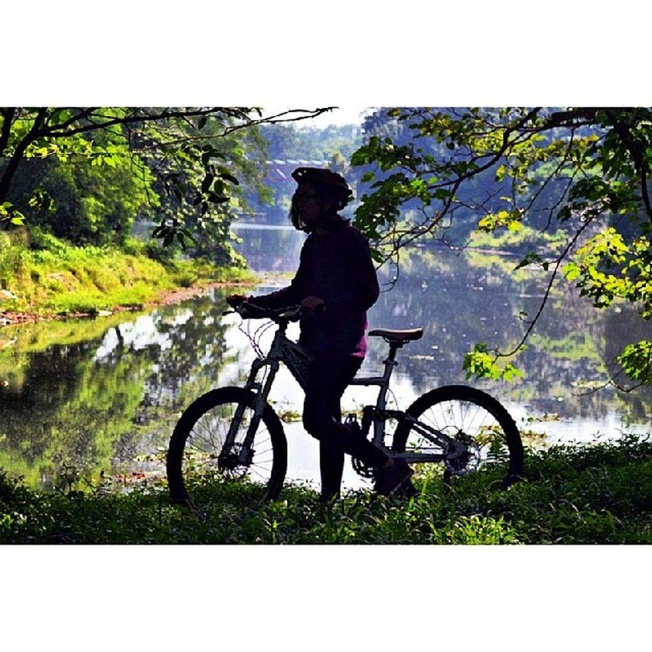 Life is like riding a bicycle, to keep ur balance u must keep moving.