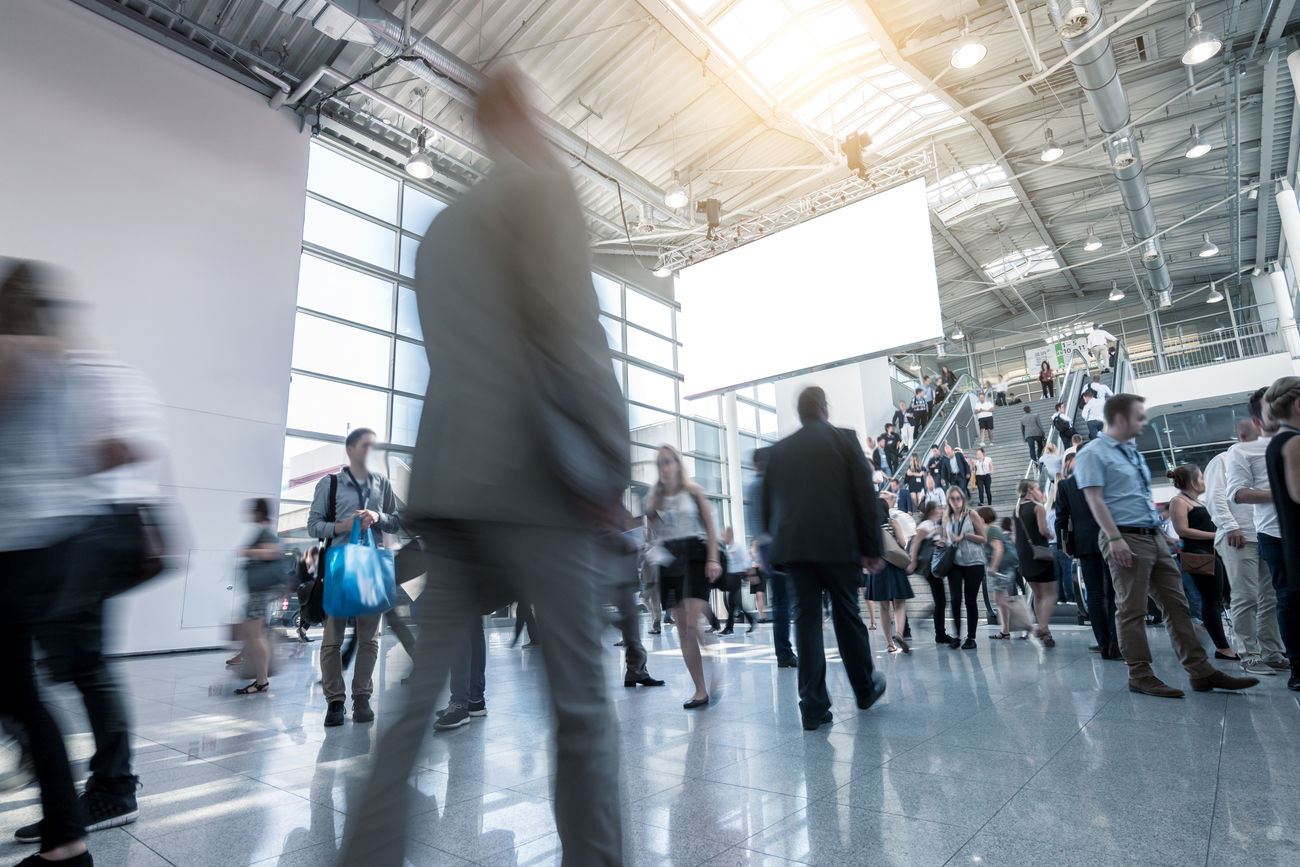 trade fair crowd Adult Architecture Blurred Motion Blurred People Business Business Business Finance And Industry Businessman Copyspace Crowd Day Exibition Indoors  Large Group Of People Men Modern Motion People Real People Rush Hour Staircase Trade Fair Tradeshow Unrecognizable Person Walking