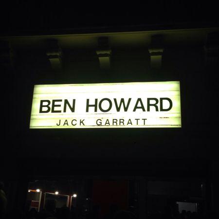01/12/14 with Ben Howard