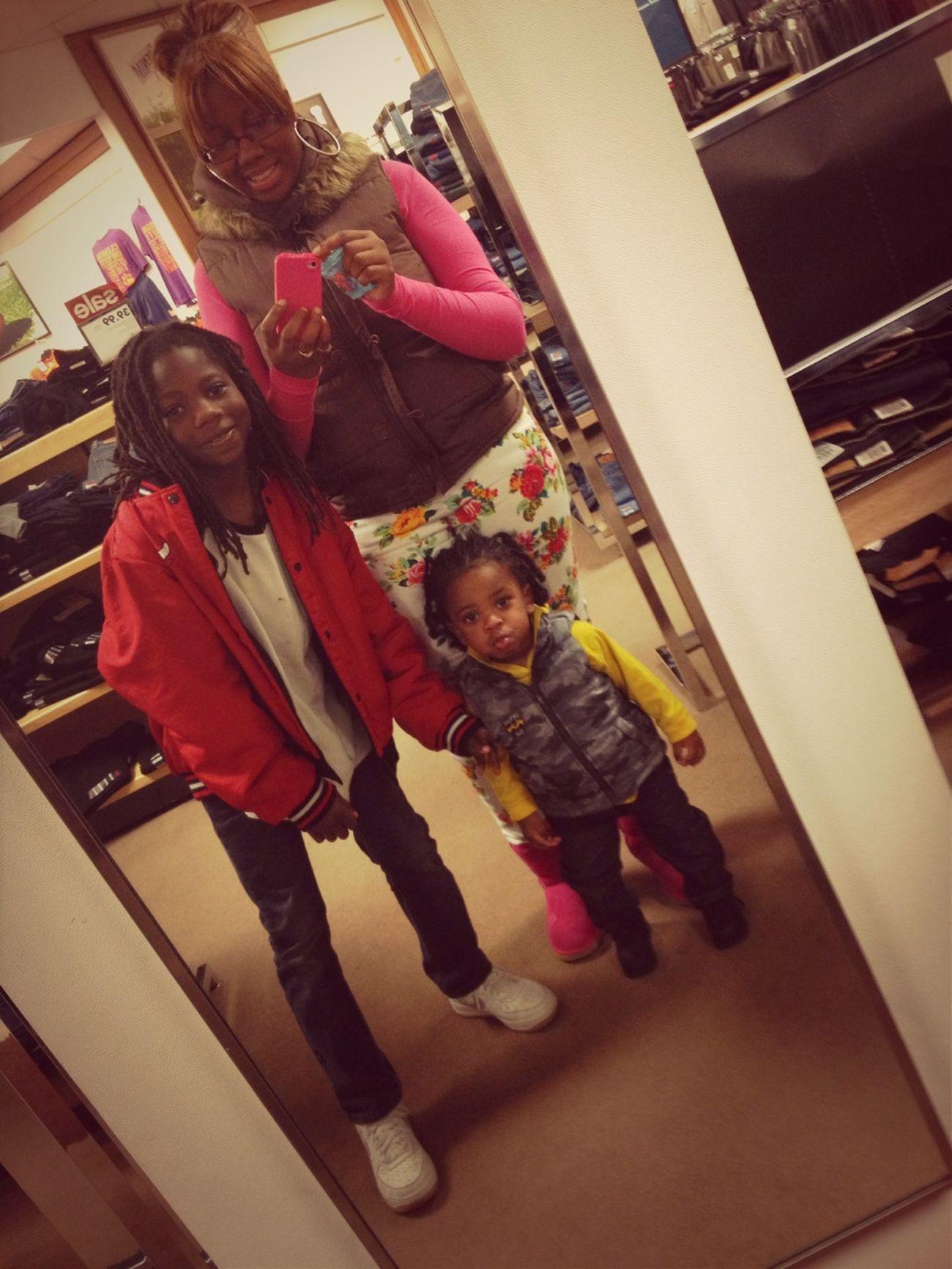 Me And My Nephews Yesterday