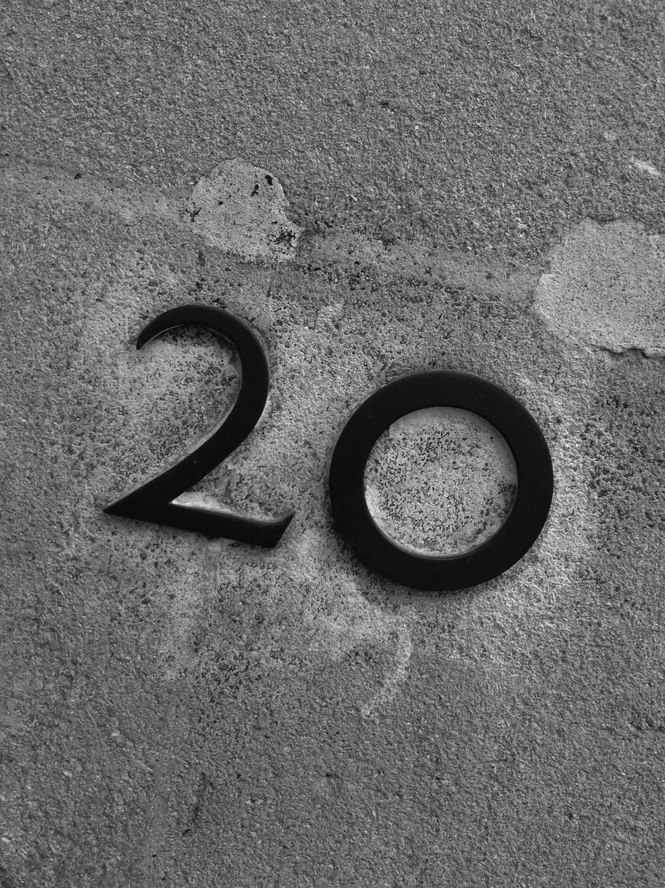 no 20 on a building wall 20 Bandw Blackandwhite Building Decay Door Number House Number Information Monochrome Monocrome Number 20 Numbers Numbers Only Sign Symbol Texture Textures Wall
