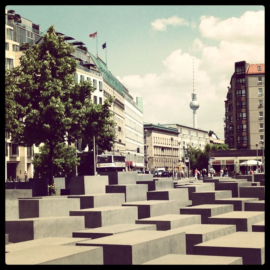 Berlin Holocaust Remembrance Stelenfeld Mahnmal