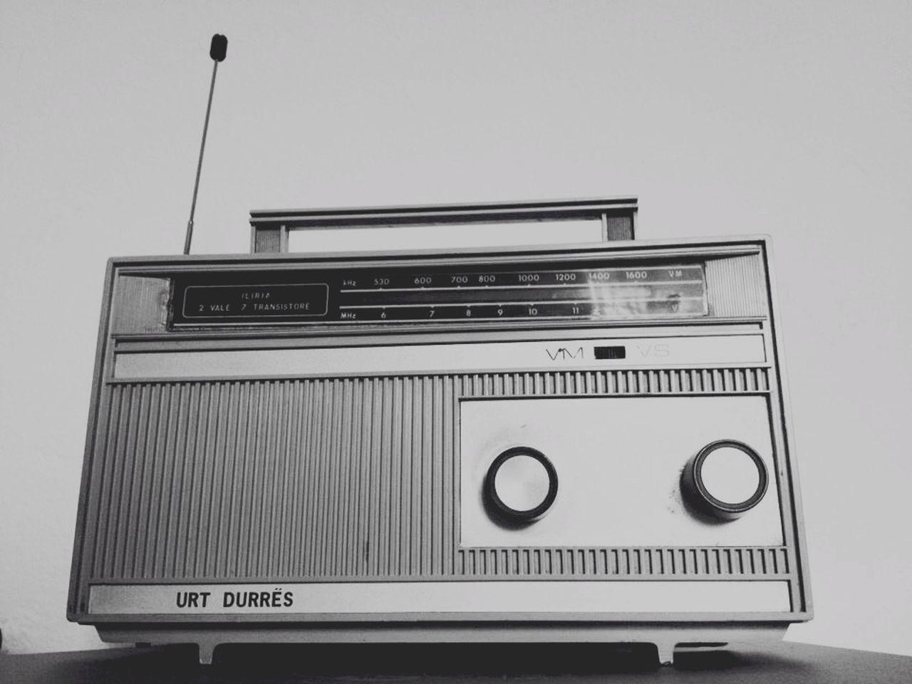 Radio Iliria Oldschool Oldradio Monochrome Black & White Blackandwhite Tirana Albania Durres