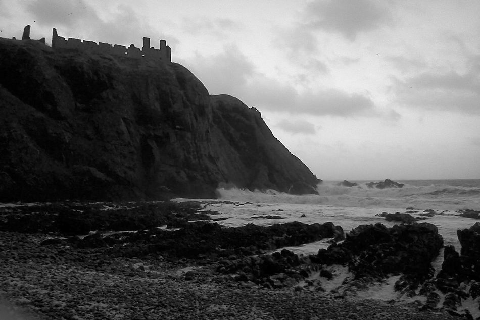 Scotland Ocean Eyeem Beach Nature Photography Blackandwhitephotography Scottish Beaches Nature EyeEm Travel Photography Walking Around Black And White Photography Blackandwhite Photography Eyeem Black And White Black And White Blackandwhite Ruins_photography Landscape_Collection Sea And Mountain Cliff Enjoying The View Cliffs Cliffside Scotland 💕 Beachphotography Landscape Ruins Of A Castle