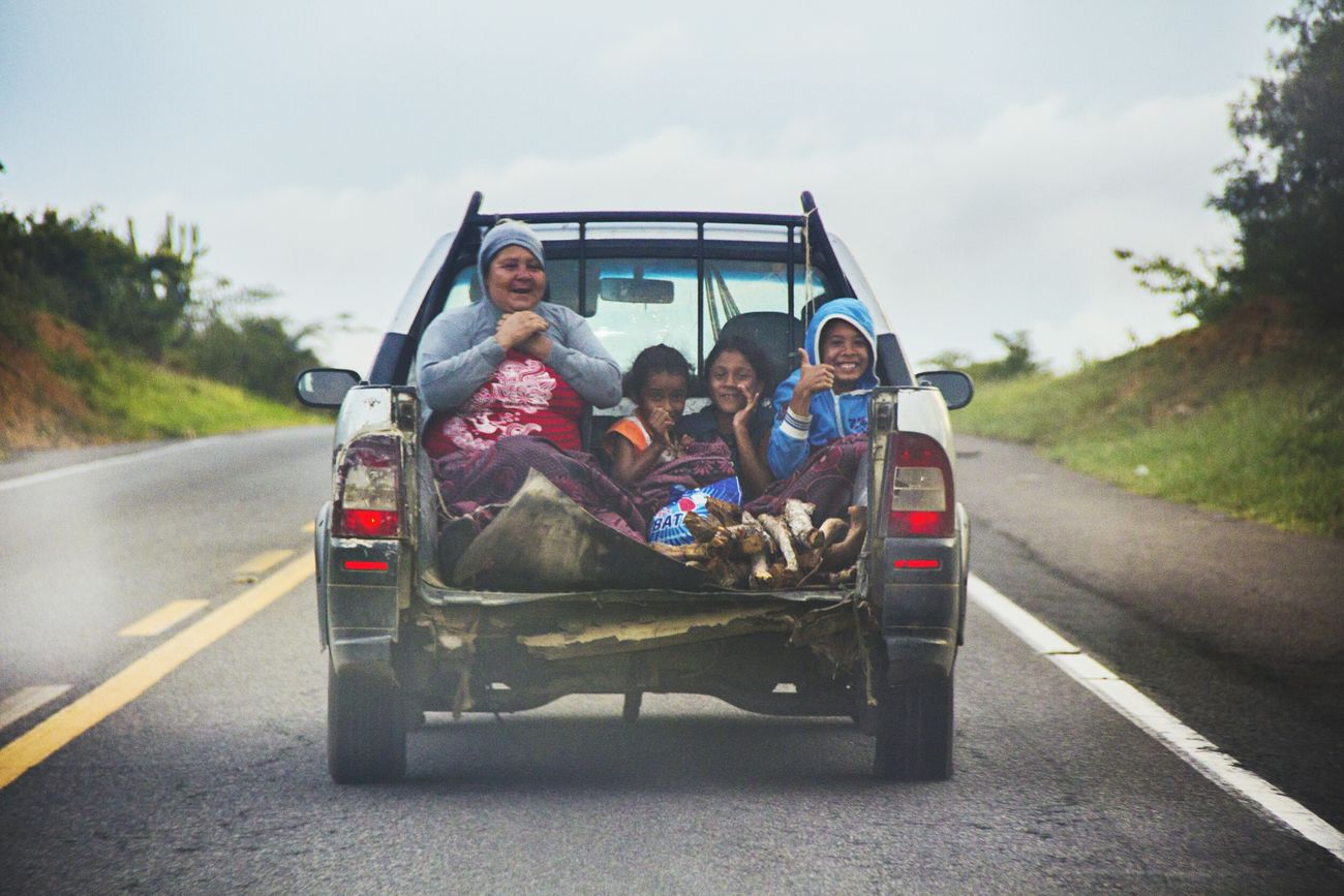 Roadtrip Centerpoint People Travel Brazil Hitchhiking Smile Br116 Bahia Road First Eyeem Photo