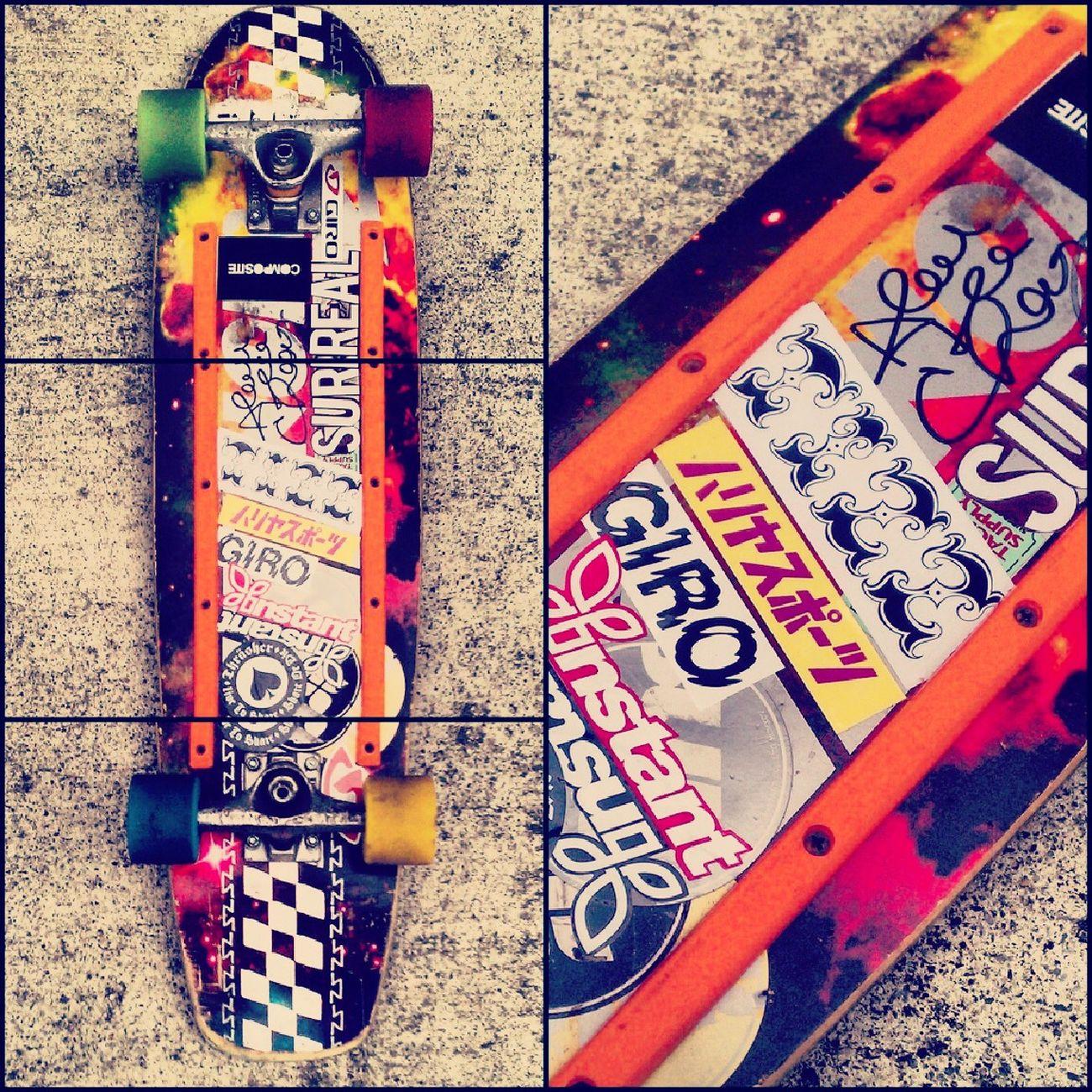 My deck My Skateboard Zip Zinger