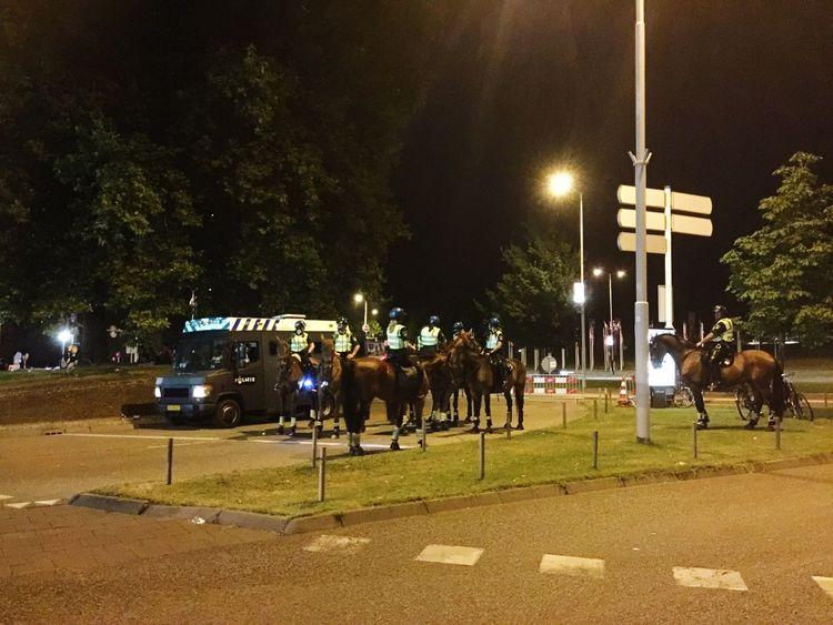 Goed dat ze er zijn. Police Horse Politie Paard