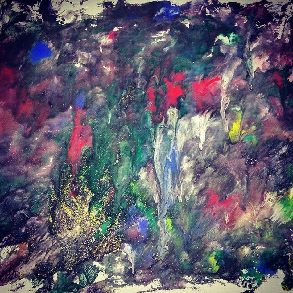 Ireallydonnowhatitmeans Fun Colour Color Painting Byme Canvas Glitters ASOT ABGT Astateoftrance Edmindia Arminvanbuuren Armin Aboveandbeyond Trance House Hardwell Lame Fame