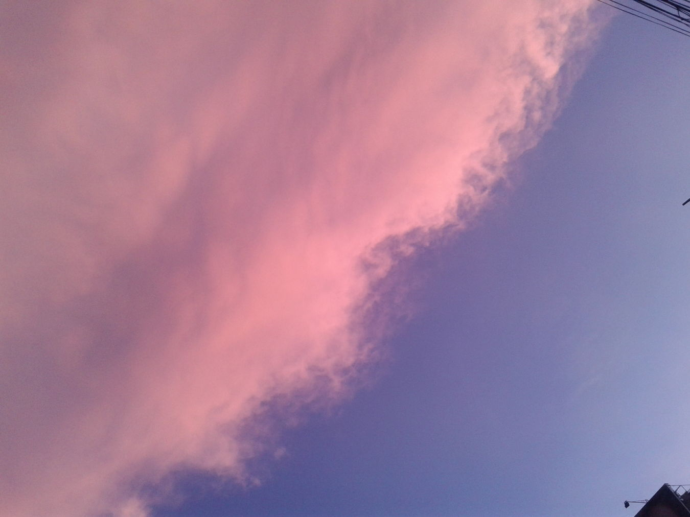 Afternoonsky Sky Clouds Sky And Clouds Coloredsky Coloredclouds Pinkandblue Pink Blue Cottoncandyclouds