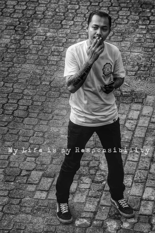 Streetphoto_bw Selfportrait Blackandwhite_hdr Tattoo Art