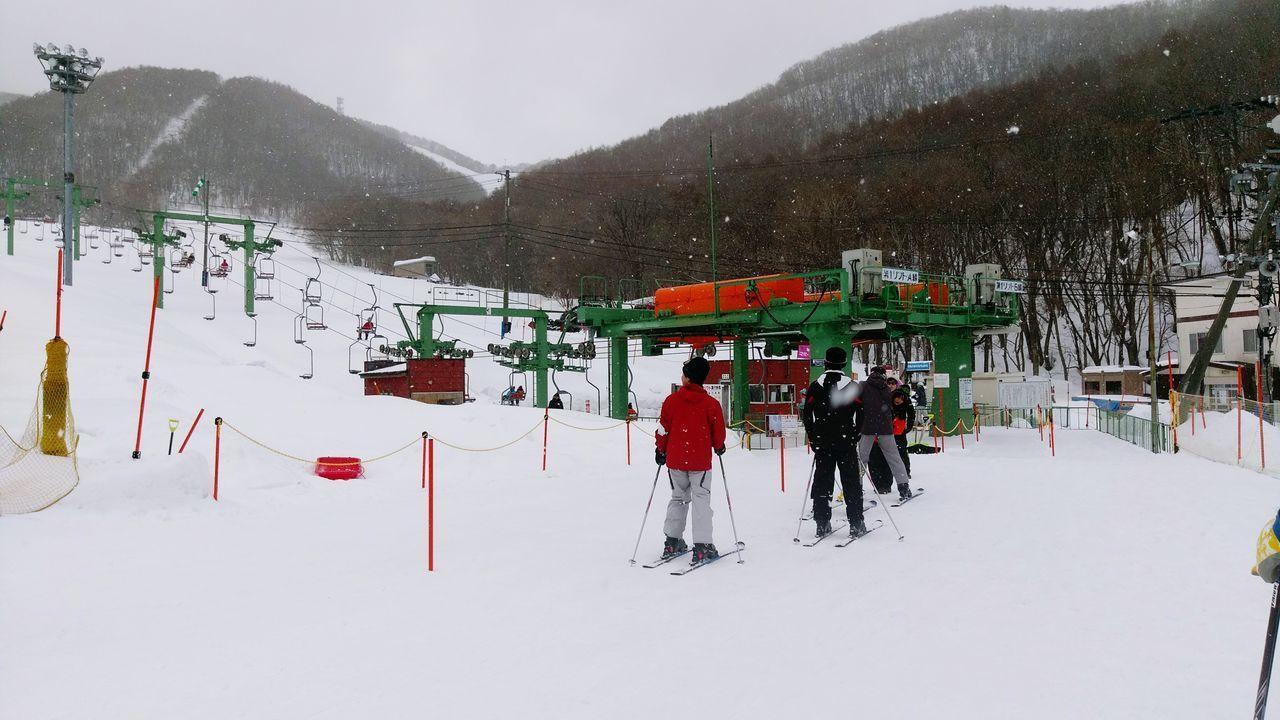 Snow Ski Moiwayama Japan Winter 冬天 日本 滑雪 滑雪場 雪白
