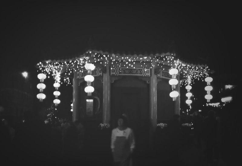 Phantasialand China Town Night Lights