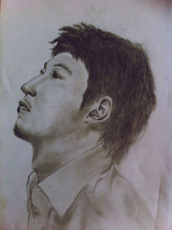 Drawing Portrait Yiruma Weekend