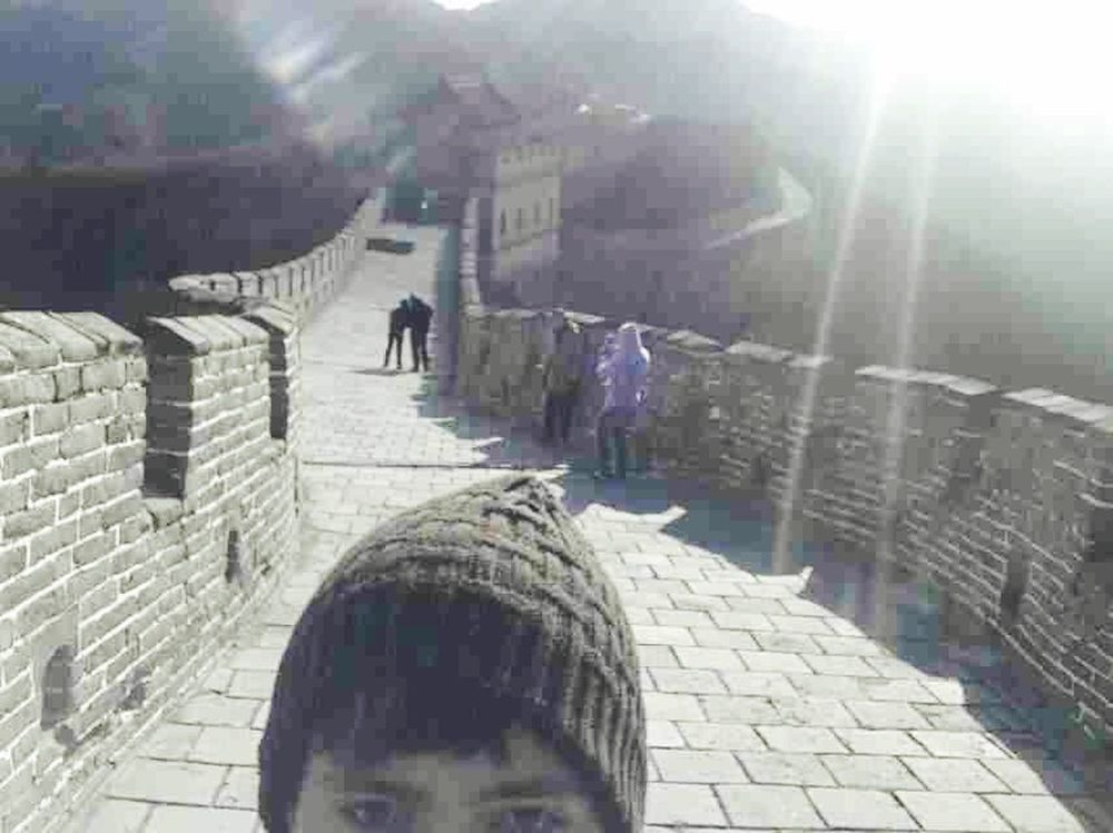 Thegreatwall Selfportrait Hello World Everyday Lives Today's Hot Look Taking Photos Enjoying Life Model