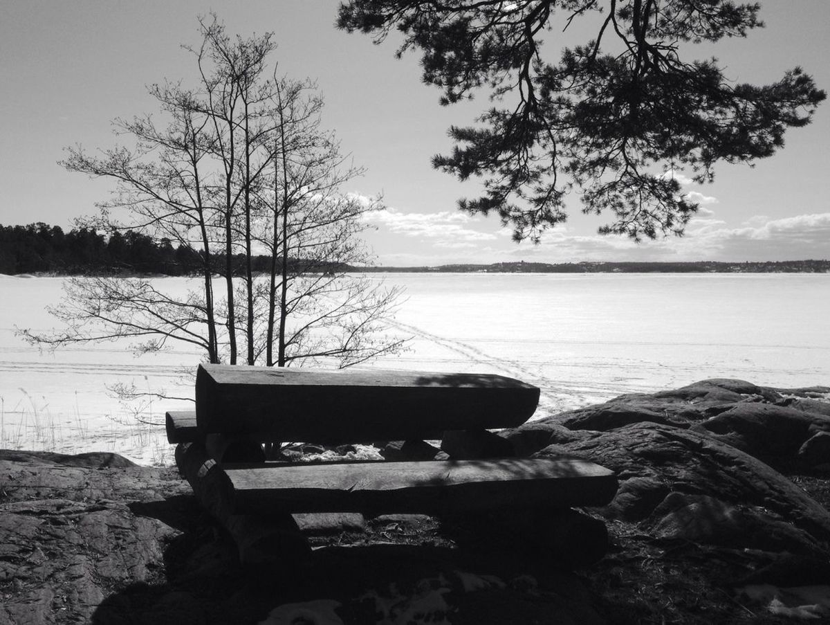 Blackandwhite Landscape_Collection EyeEm Nature Lover The Waiting...