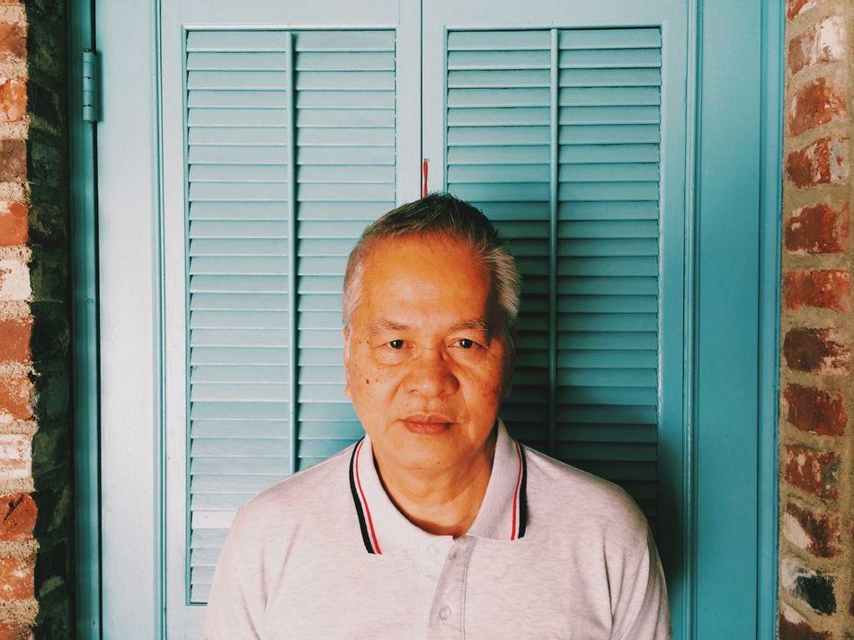 Mobile Portraits 05: The Best Dad In Sherman Oaks MobilePortraits Portrait The Portraitist - 2014 EyeEm Awards
