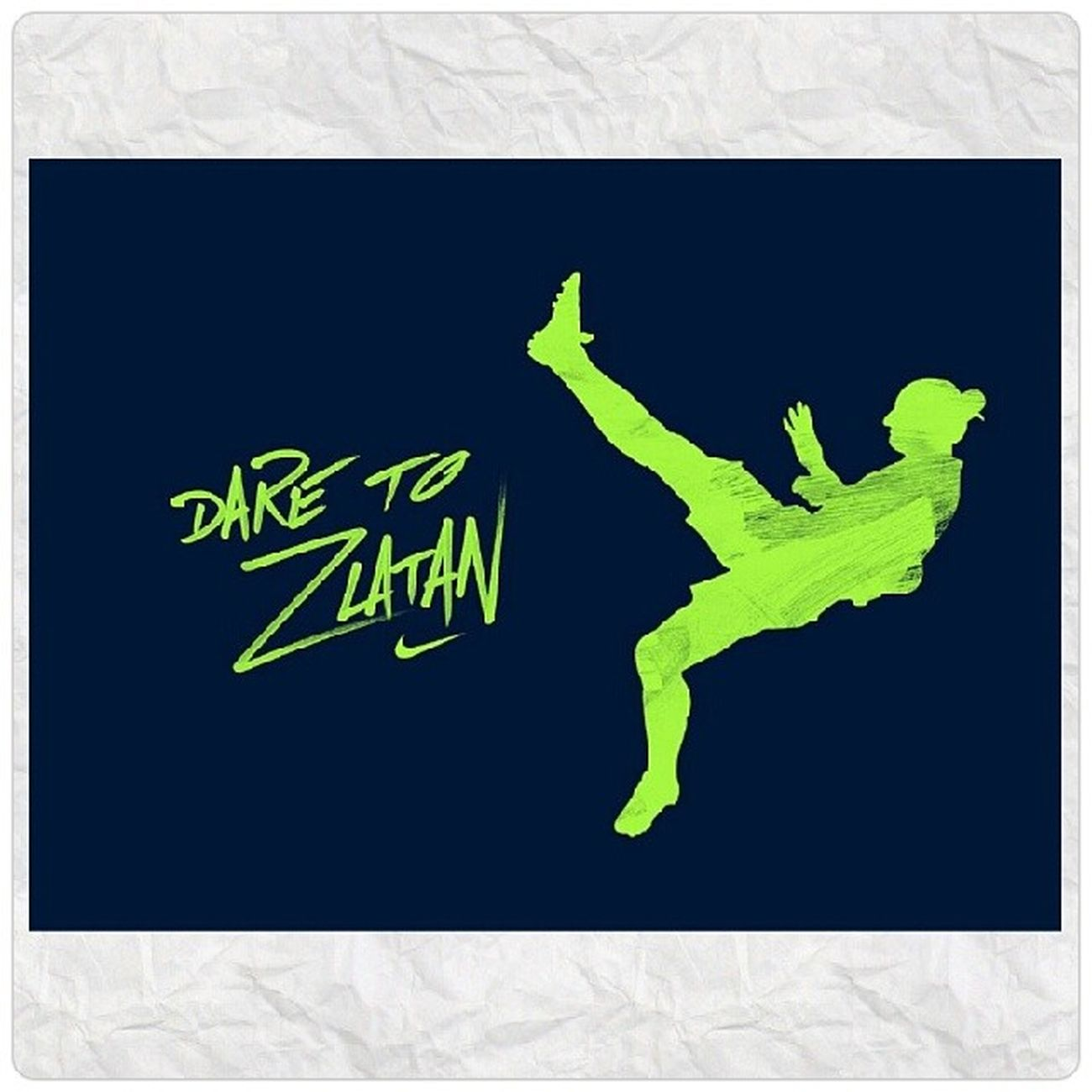 I am Dare to Zlatan. Congratulation to Zlatan Ibrahimovic on winning the Fifa Puskas Awards 2013. DareToZlatan Fifa Ballondor2013 .