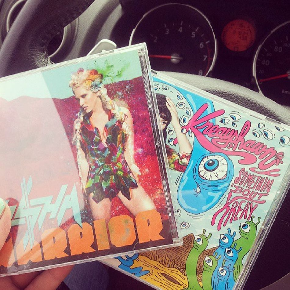 all I need when driving Kesha Kreayshawn