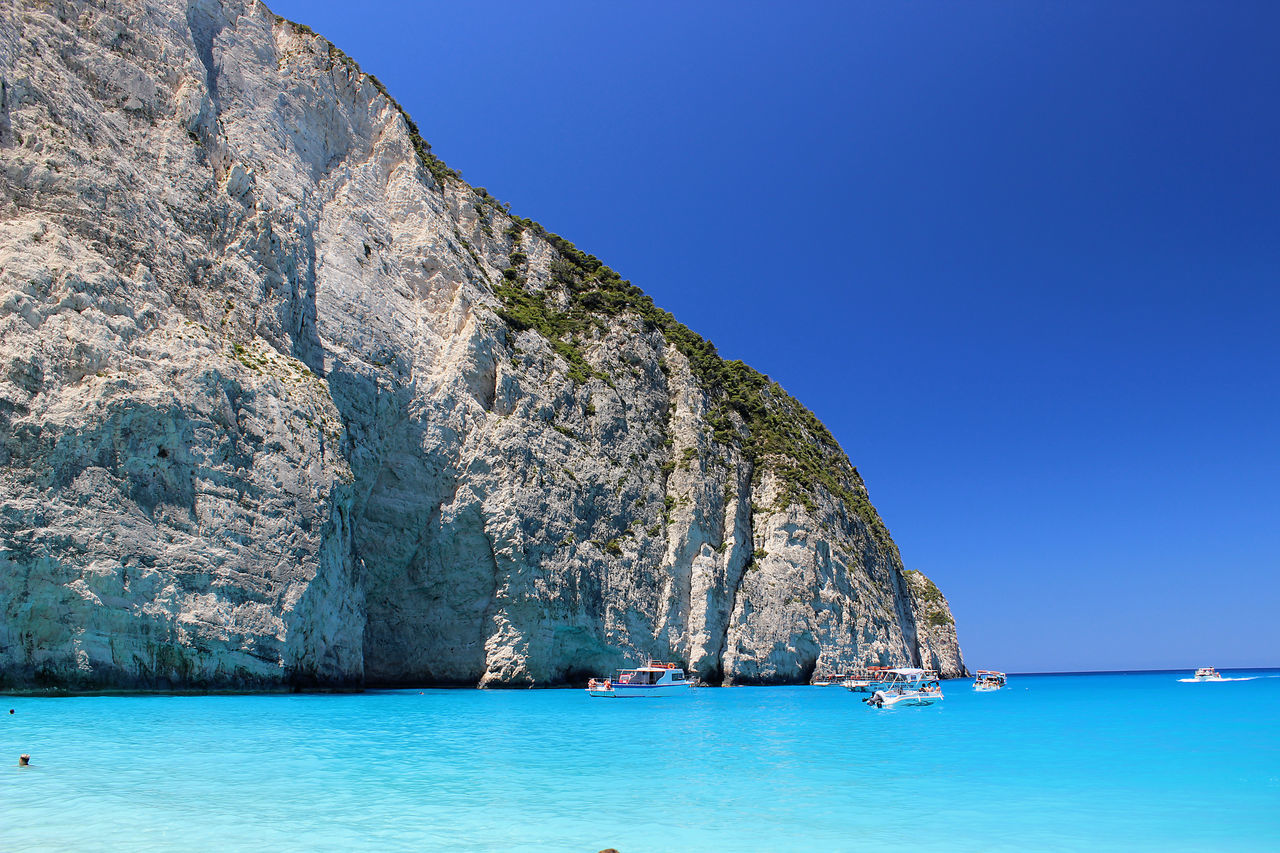 Navagio Beach Water Blue Sky Island Mountain Zakynthos, Greece Greece Greece Photos Electric Blue Color Travel Greece Island Sea Cloud - Sky Zakynthos,Greece Greece Memories Zakynthos Shipwreck Island Shipwreck Beach Shipwreckbeach Beach Navagiobeach NavagioShipwreck Navagio Zakinthos Shipwreck