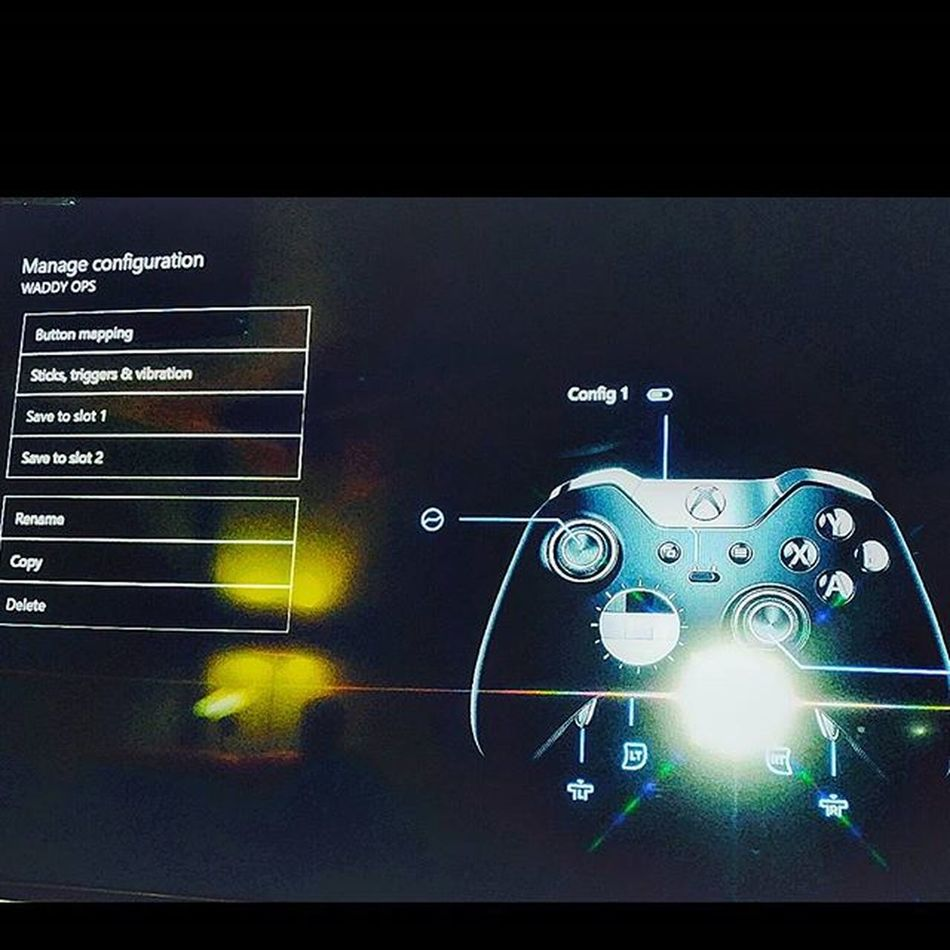 Button mapping my xbox one elite controller 😍😍😍😍😍😍 XboxOne CallOfDuty Blackops3 Capturetheflag Elitecontroller Xboxelitecontroller