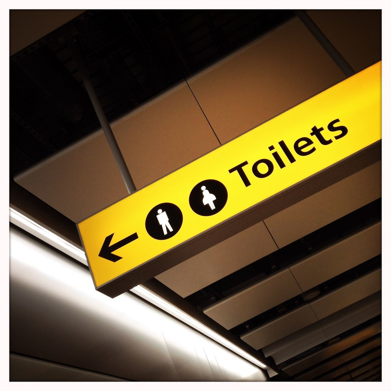Arrow Symbol Direction Guidance Guide Information Information Sign Rest Room Sign Text Toilets Western Script