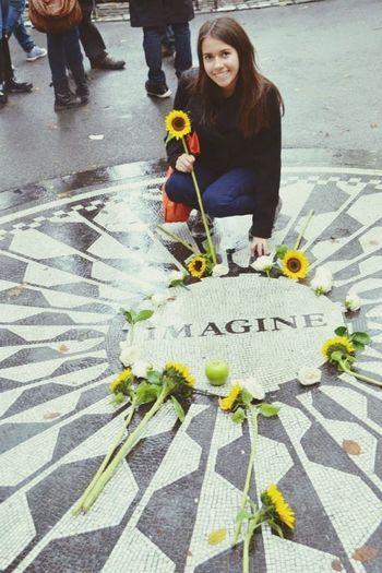 You may say I'm a dreamer but I'm not the only one John Lennon Imagine ?