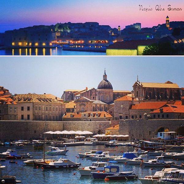 Panoramic view of Dubrovnik Old Town & Dubrovnik pier | Dubrovnik, Croatia Croatia Travel Dubrovnik Oldtowndubrovnik