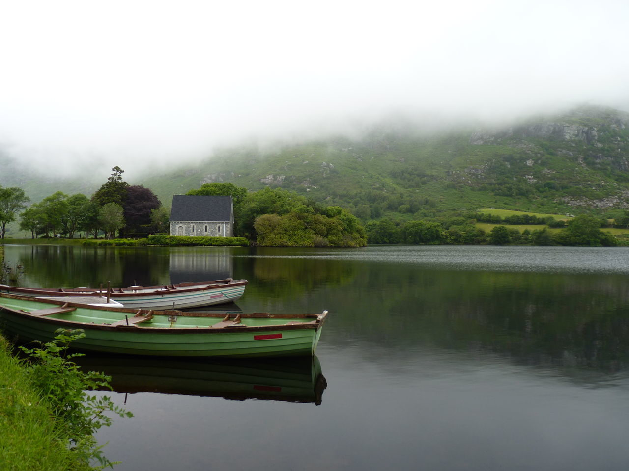 Beautiful stock photos of ireland, Water, beauty In Nature, boat, day