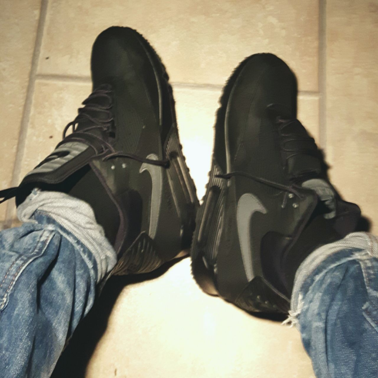 Hello World Shoeselfie Nike Airmax 90 Sneakerboot Love My Airmax