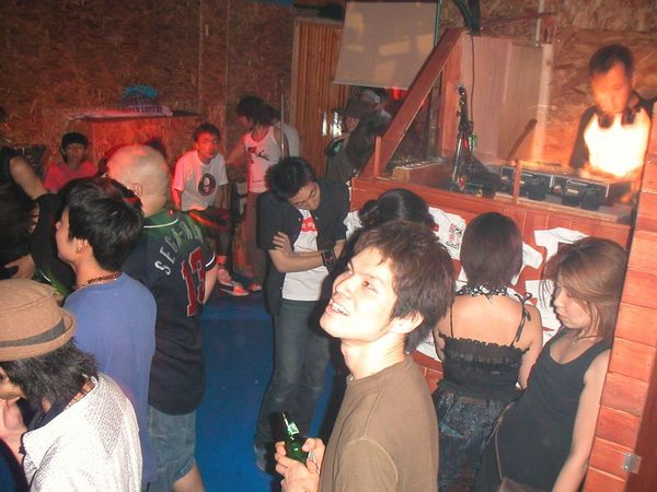 2002/07/13 Blanquilizer Vol.4 at Club Acid Tokyo Party Time! Crazy Moments In Your Day EyeEm Music Lover It's My Memories Rock'n'Roll