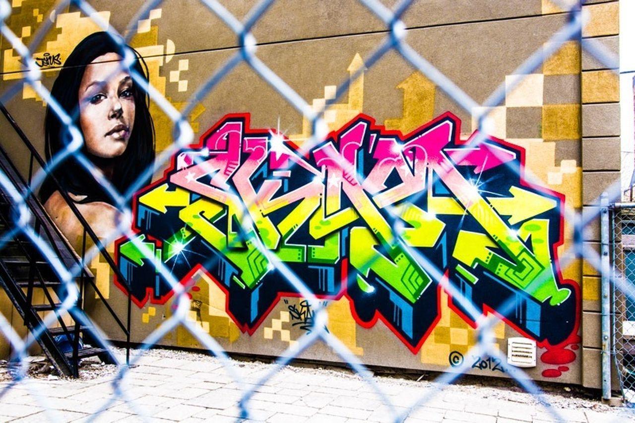 Graffity Girl by Jarus Toronto Graffiti Urban Canada