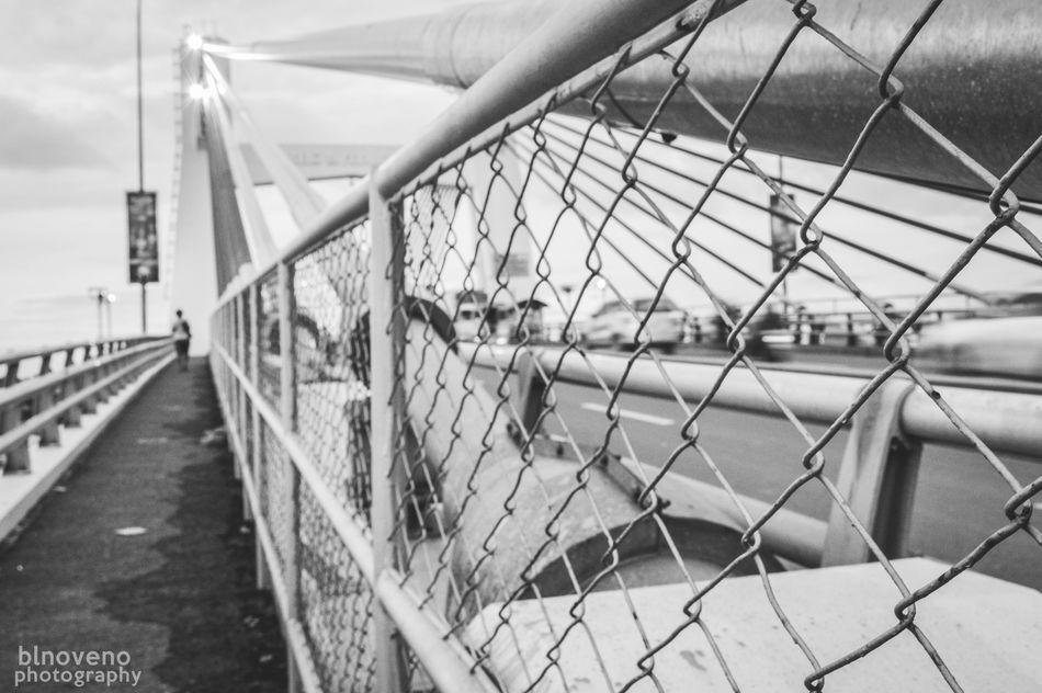 Lines, curves and waves. Check This Out Taking Photos First Eyeem Photo Architecture Bridge Mactanbridge Blackandwhite Blackandwhitephotography Bnw Nikon Nikon D3200 Cebu Philippines Nikonphotography Photography Photooftheday EyeEm Best Shots Streets The Architect - 2016 EyeEm Awards