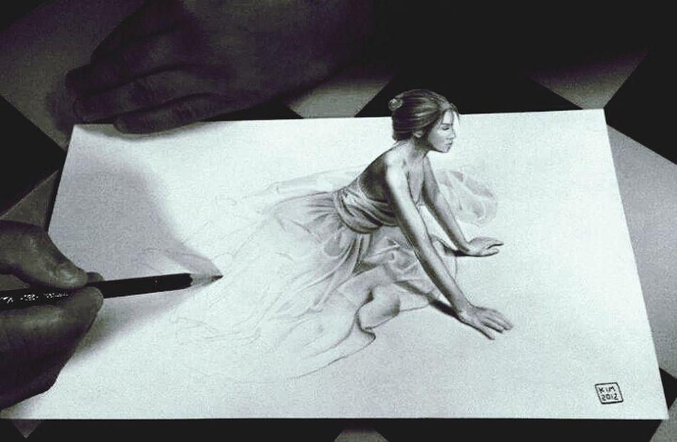 Biautifull Paint <3 Portrait Of A Woman