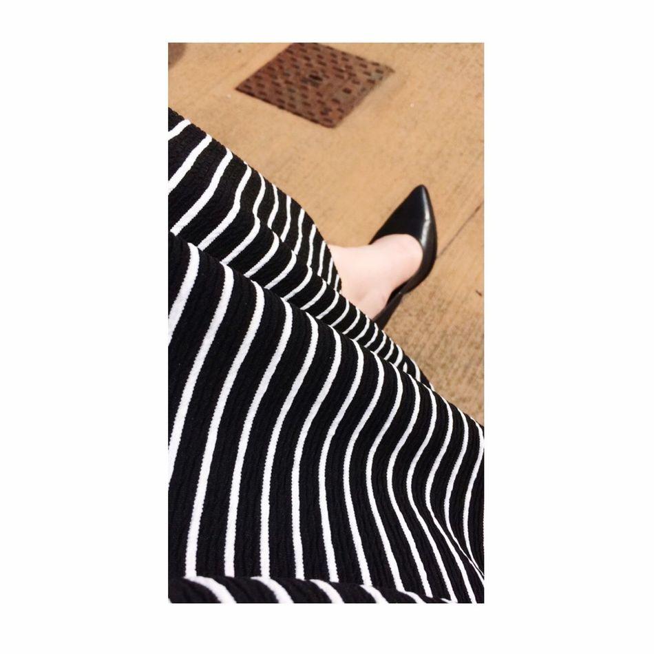 Cafenoir Mood Stripes Blackandwhite