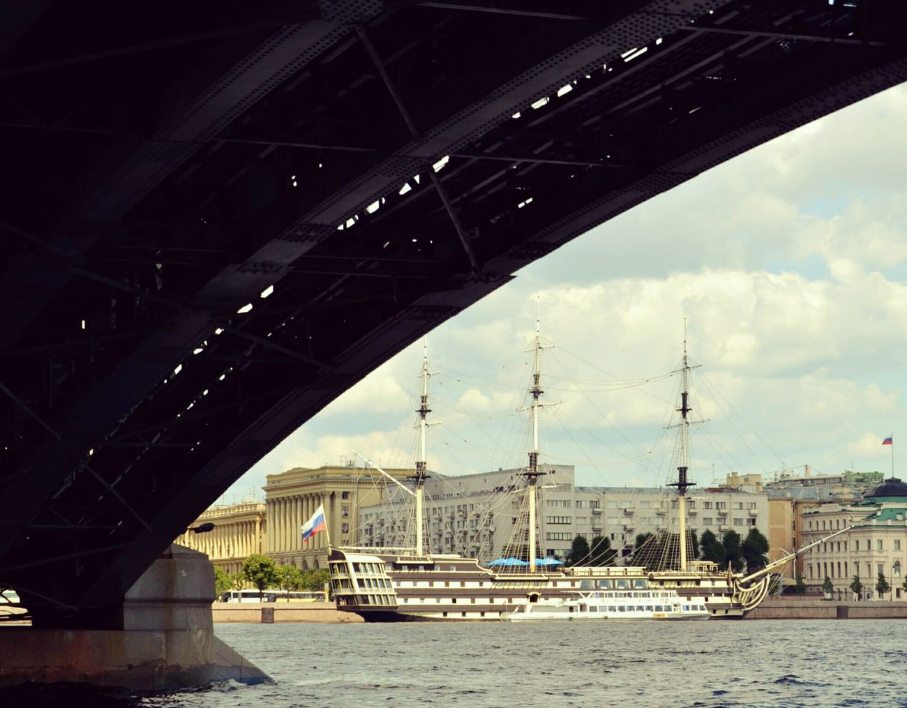 Bridge Under The Bridge Spb Saint Petersburg Russia FromRussiaWithLove Goodlife Taking Photos Check This Out Relaxing Enjoying Life Питер Arch Bridge OnTheWater Russia, St.Petersburg Russian Beauty