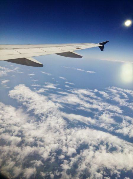 Clouds And Sea Sky